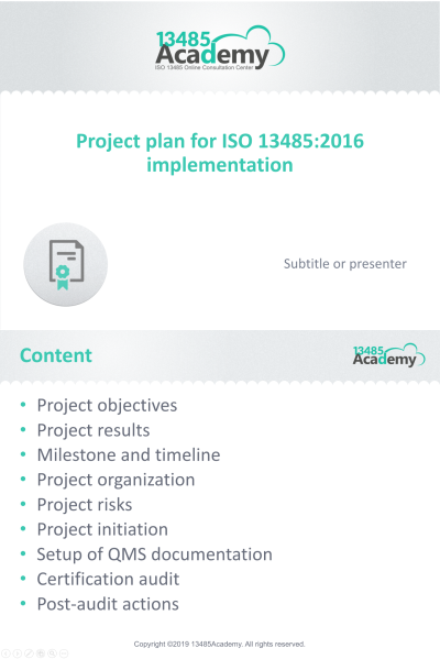 Project_plan_for_ISO_13485_2016_implementation_presentation_EN