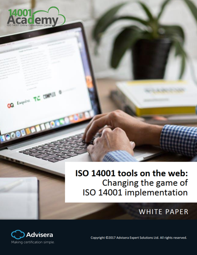 How online tools are revolutionizing ISO 14001 implementation