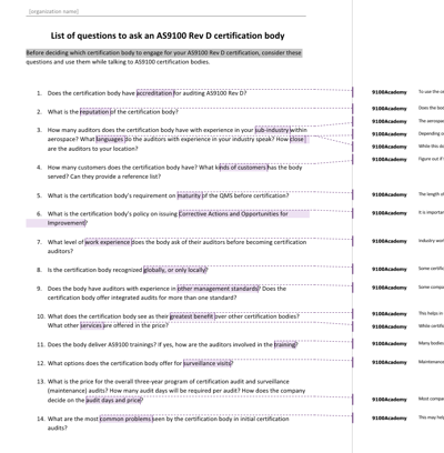 List_of_questions_to_ask_an_AS9100_Rev_D_certification_body_EN
