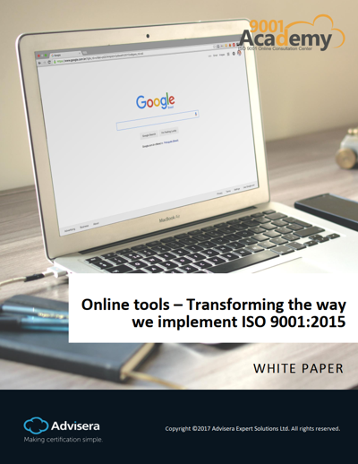 How online tools are revolutionizing ISO 9001 implementation